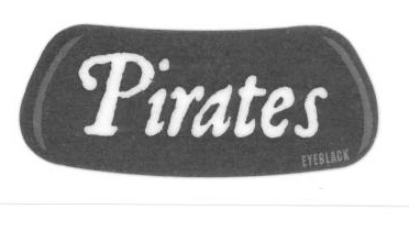 Pirates Eye Blacks - set of 2